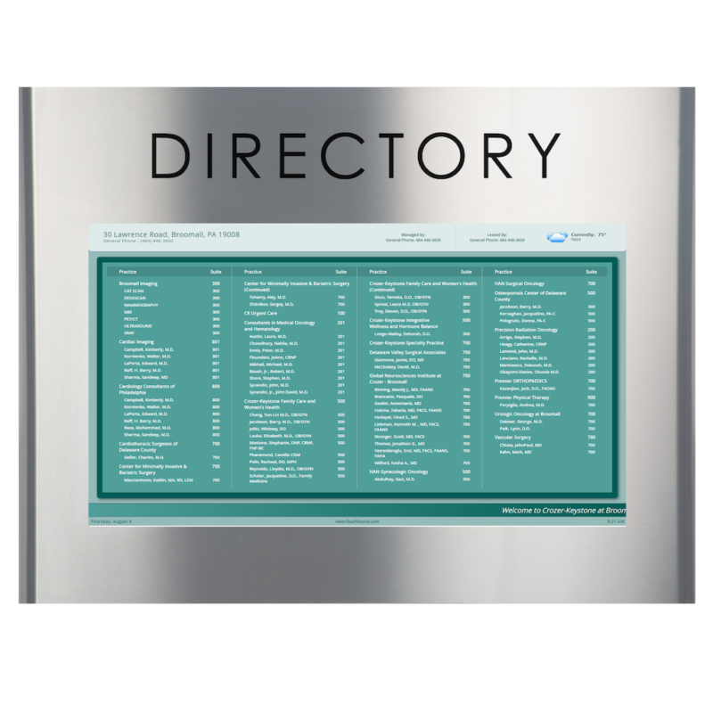TouchSource Pantella Directory