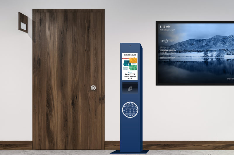 TouchSource Government Wellness Kiosk