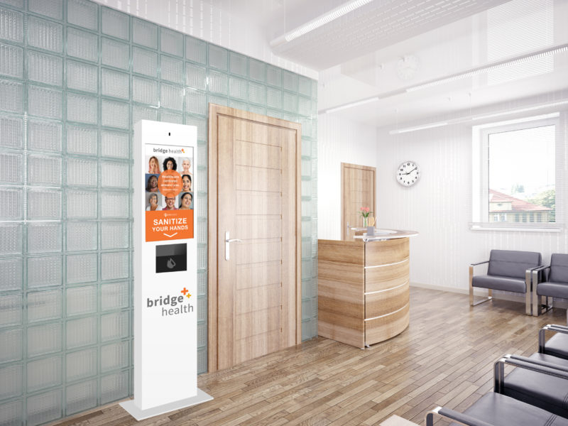 TouchSource Taos Wellness Kiosk for Healthcare