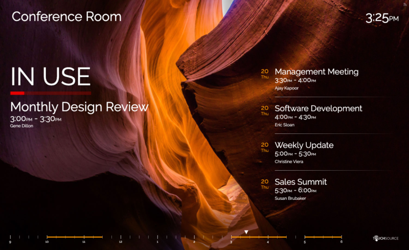 TouchSource SharedSpaces Conference Room Solutions - Horizontal Desert