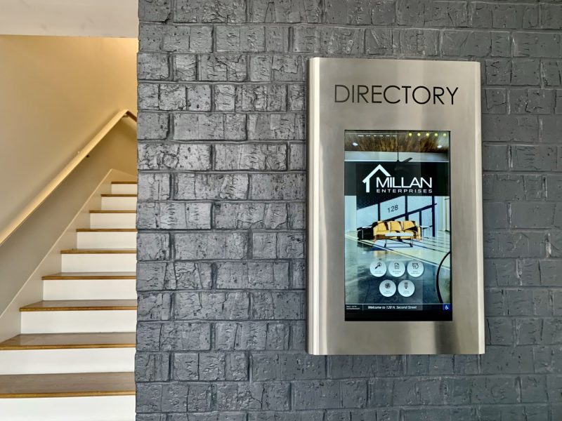 directory and wayfinding solution