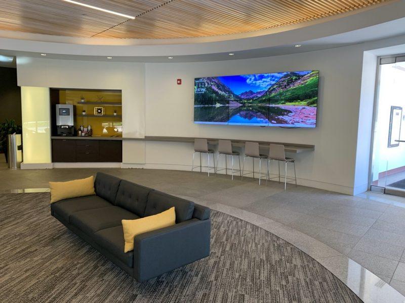 technology way denver new lobby