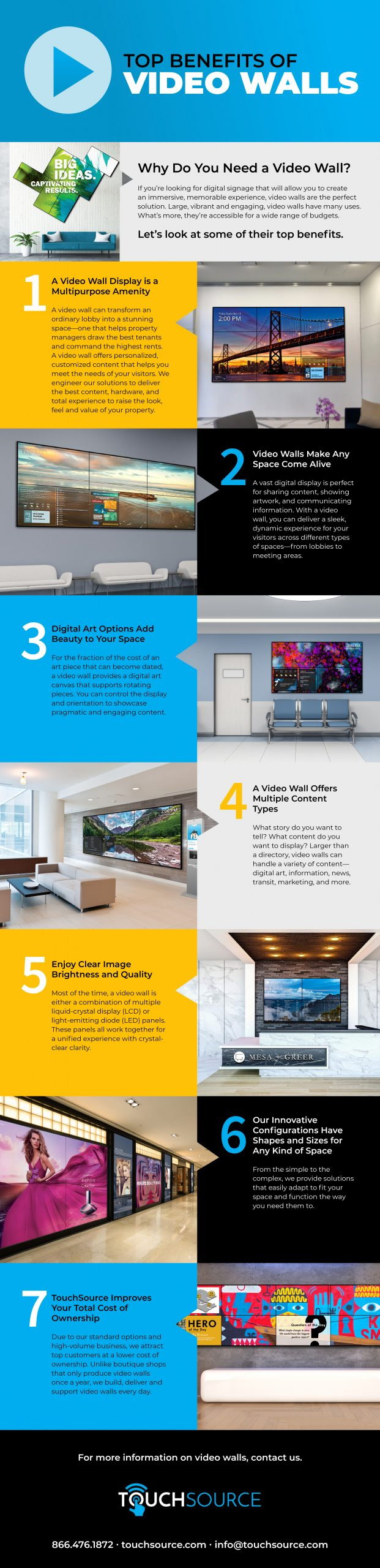 video wall benefits